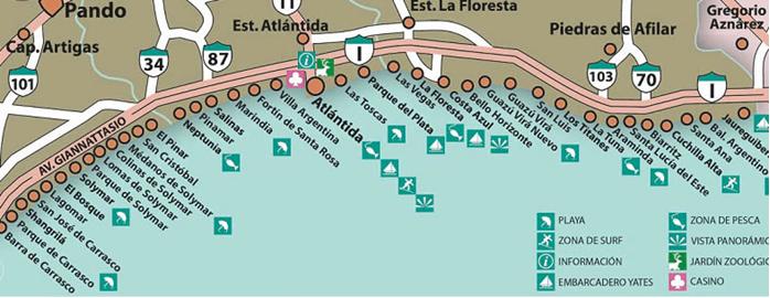 Guazuvirá_mapa balnearios