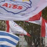 banderas de atss y uruguay