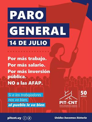 Paro General - 14 de Julio