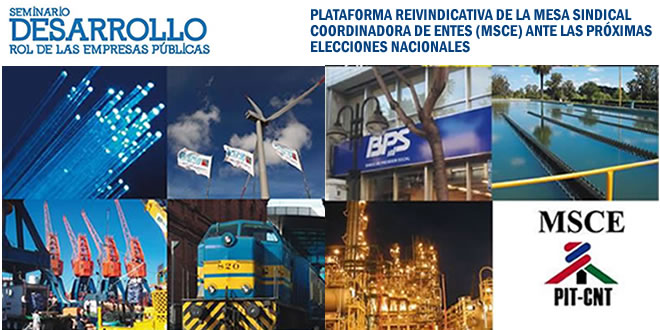Empresas públicas sólidas y pujantes para el desarrollo del Uruguay
